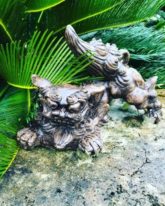 Travel with Mayella - Japan Okinawa Shisu Statues