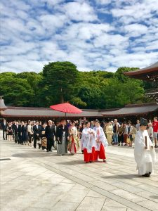 Travel with Mayella Japanese wedding ceremony