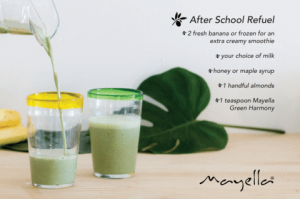 Mayella After School Refuel Green Smoothie Challenge